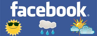 Previsioni meteo su Facebook con WeatherPoke