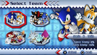 Sonic Rivals trucchi