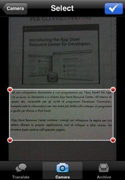 Babelshot: Il traduttore con riconoscimento automatico del testo su AppStore