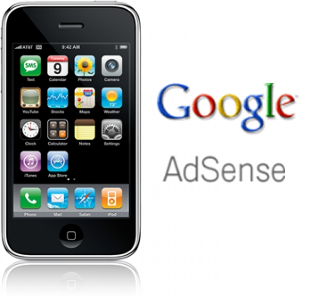 google adsense iphone