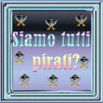 Studio: nonostante la repressione, si è ancora tutti pirati