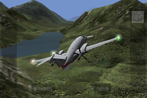 Simulatori di volo per iPhone: X-Plane 9