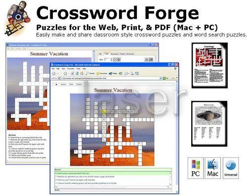 Cruciverba fai da te per Mac: Crossword Forge