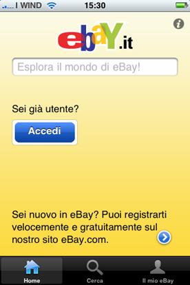 Ebay Sempre: update 1.5.0 – AppStore –