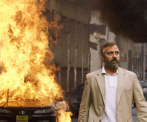 "George Clooney protagonista nel film ""Syriana"""