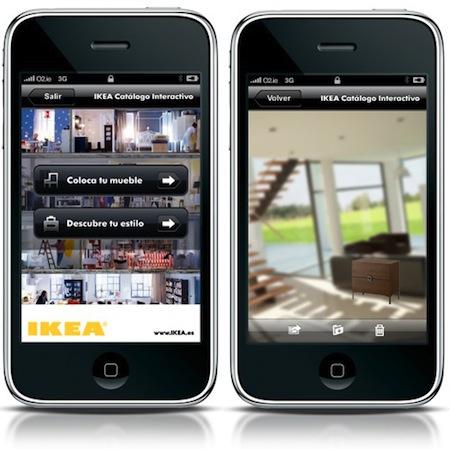 Ikea per iPhone su AppStore l'applicazione per arredare la casa
