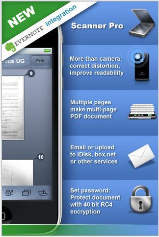 Scanner Pro: l'iPhone diventa anche uno scanner