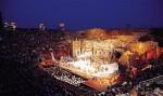 Lo spettacolo sta per iniziare Arena di Verona 2010