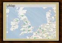 Umaps: come appaiono i peers in Google maps