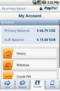 PayPal aggiorna PayPal Mobile