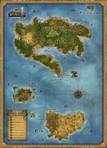 Two Worlds 2 ecco la mappa di gioco