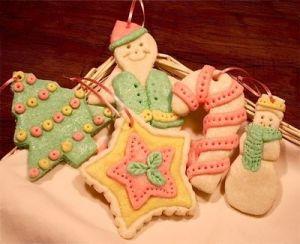 Regali di Natale con la pasta di sale