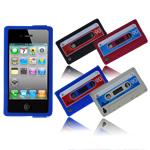 Audiocassetta o Custodia per iPhone 4