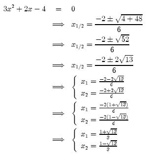 Equazioni di secondo grado – il delta o determinante.