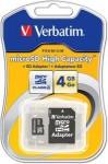 MicroSD Verbatim 4GB