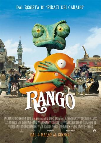 Rango: locandina italiana dal film di Gore Verbinski