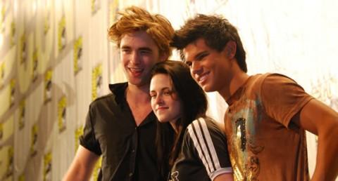 Robert Pattinson, Kristen Stewart e Taylor Lautner: un 2010 da Twilight Saga