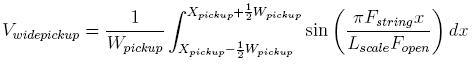 Hendrix e la fisica – Effetti dell'ampiezza del pickup