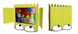 Tv Lcd di Bart Simpson