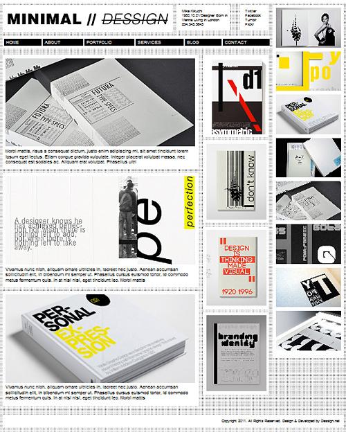 tema_minimal_wordpress_design