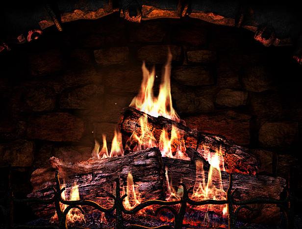 3d_fireplace_screensaver_camino_acceso