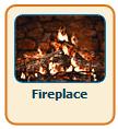 Caminetto come salvaschermo con 3d Fireplace