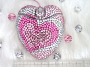 Mouse Crystal Heart