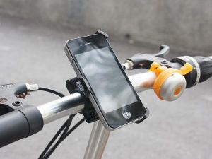 Dock USBFever ricarica l'iPhone 4 pedalando