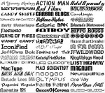 Gestire font windows
