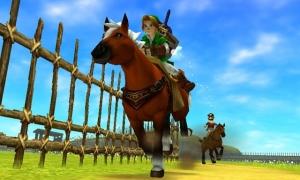 Ocarina of Time 3D su 3DS