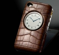 Case per iPhone con orologio da tasca