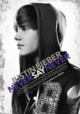 Never Say Never: il film con Justin Bieber in uscita nelle sale italiane solo per un giorno