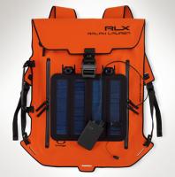 Zaino Ralph Lauren con pannelli solari