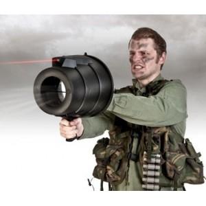 Bazooka spara aria con puntatore Laser
