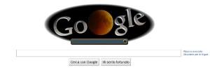 Google: immagine speciale per l'eclissi di luna