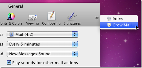 Gestire le notifiche dei programmi sul desktop – GrowlMail