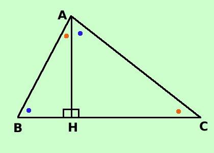 Triangoli rettangoli: geometria piana