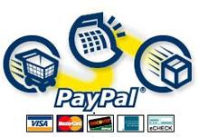 Pagamenti con Paypal al posto di Bancomat e Carte di credito