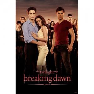 Twilight Saga Breaking Dawn Parte 1: nuovo poster in formato Comic-Con