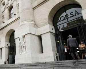 Piazza Affari: Borsa Milano -5%