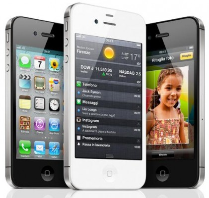 Iphone 4S senza tecnologia NFC