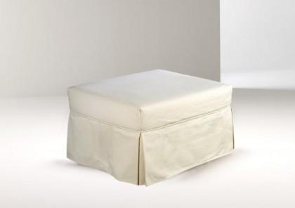 Un pouf che diventa letto.