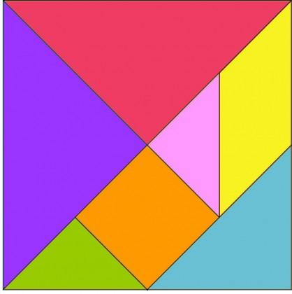 Regalare rompicapo: Tangram