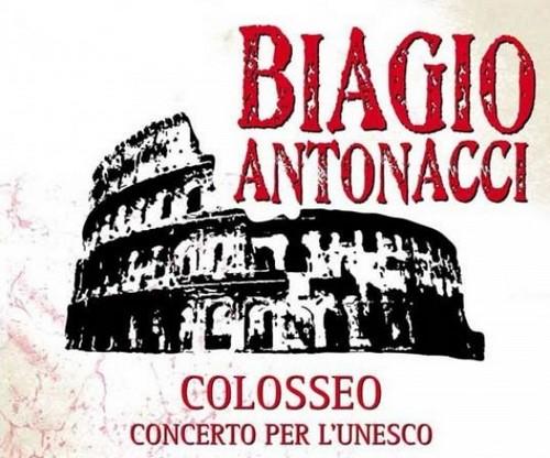 Colosseo il primo album live di Biagio Antonacci