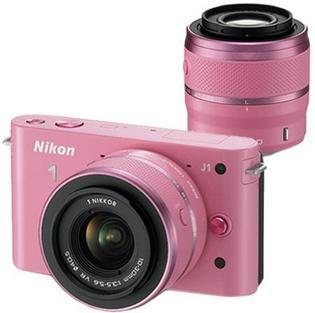 Fotocamera Rosa: Nikon J1