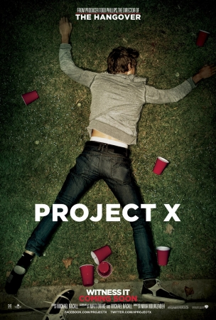 Project X trama cast e locandina