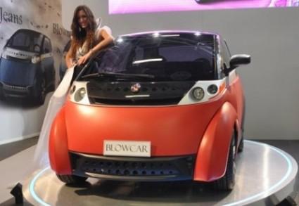 BlowCar auto gonfiabile leggera e conveniente