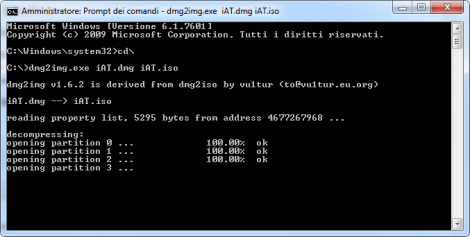 Guida dmg2img: convertire Dmg in Iso