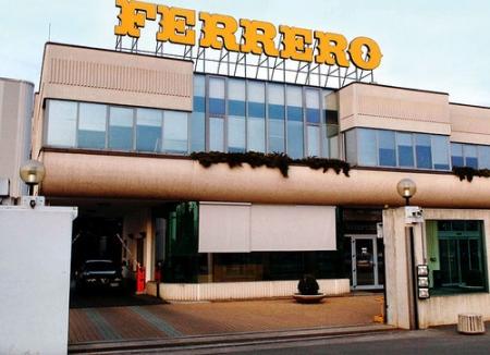 Fatturato Ferrero spa in crescita del 7%