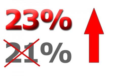 Aumento IVA 2012